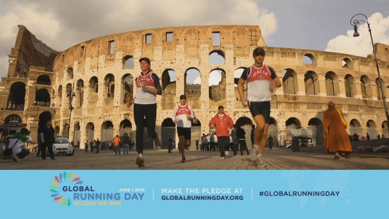 Global Running Day is June First!