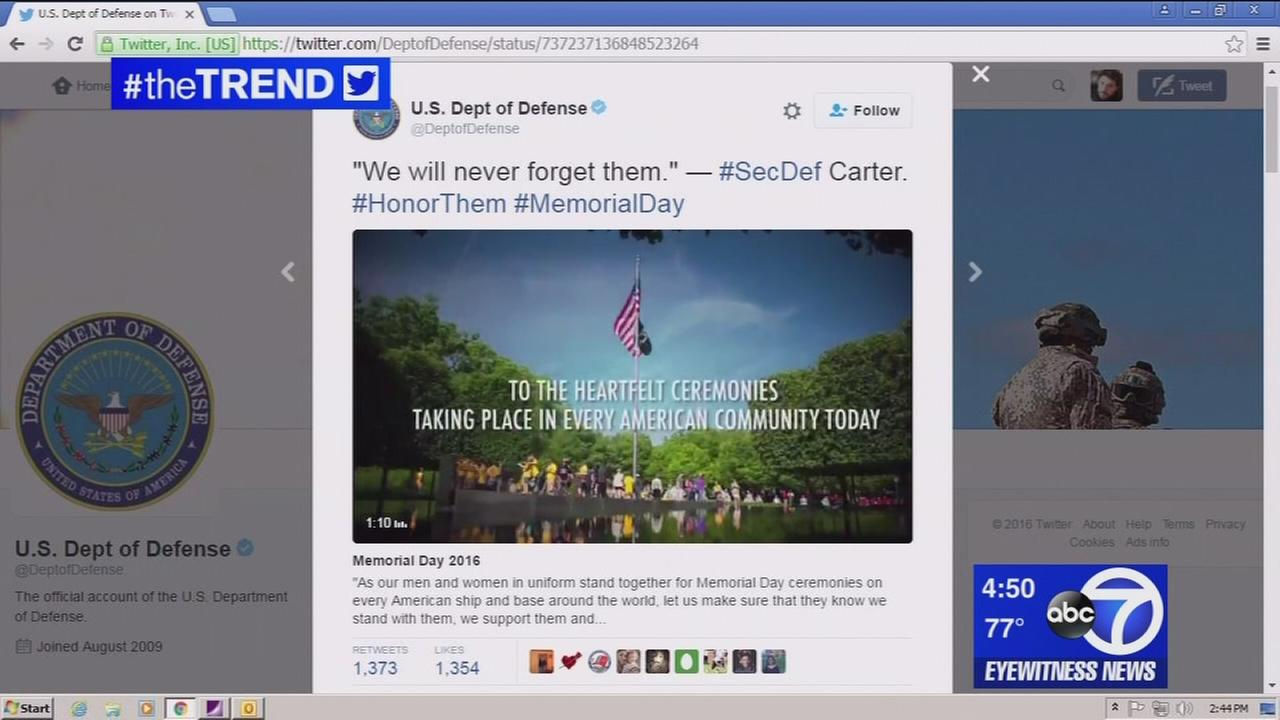 The Trend: Memorial Day tops social media