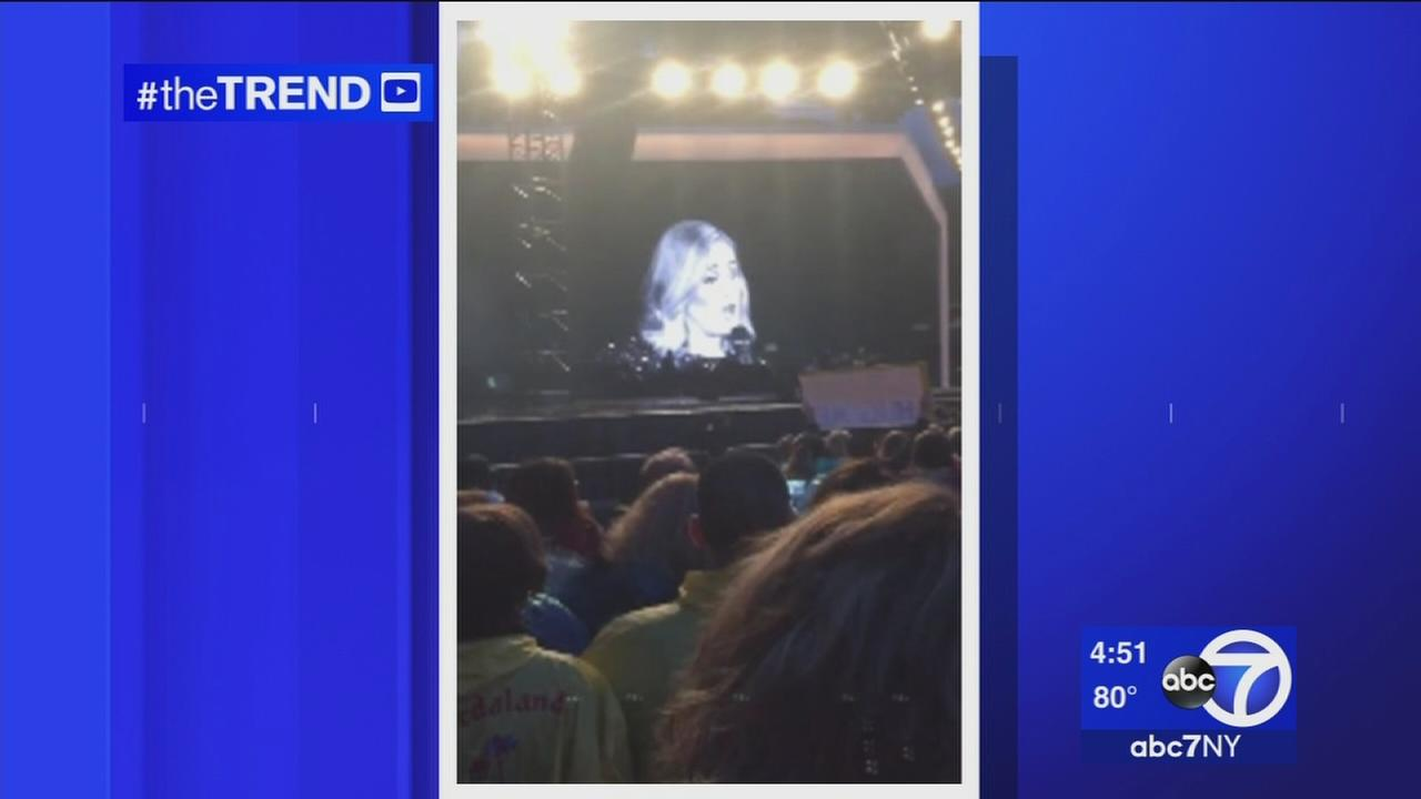 The Trend: Adele scolds fan filming concert with cellphone