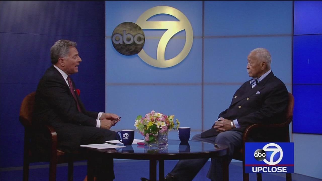 Up Close: David Dinkins