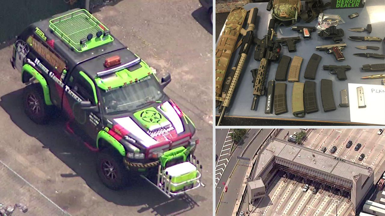 Suspects in Holland Tunnel weapons cache bust plead not guilty
