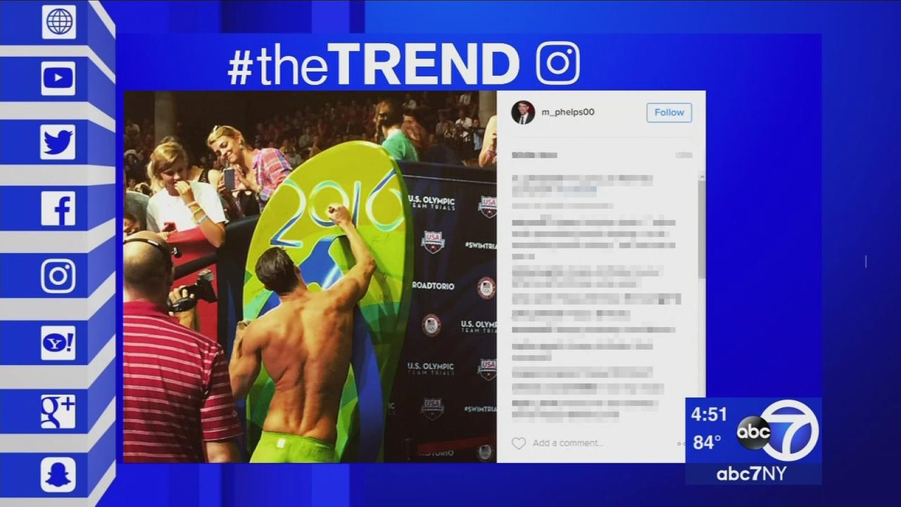 The Trend: Michael Phelps becomes the first male swimmer to make five Olympics