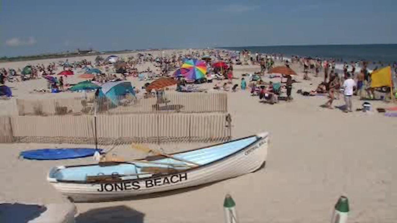 Jones Beach Lifeguards On Duty Through Weekends Hot Weather Abcny Com