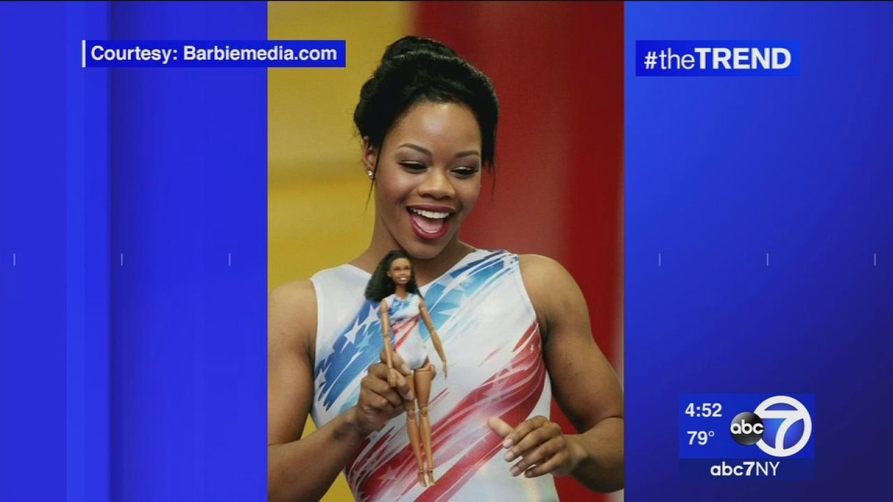 The Trend: Olympic gymnaist Gabby Douglas gets her own Barbie doll