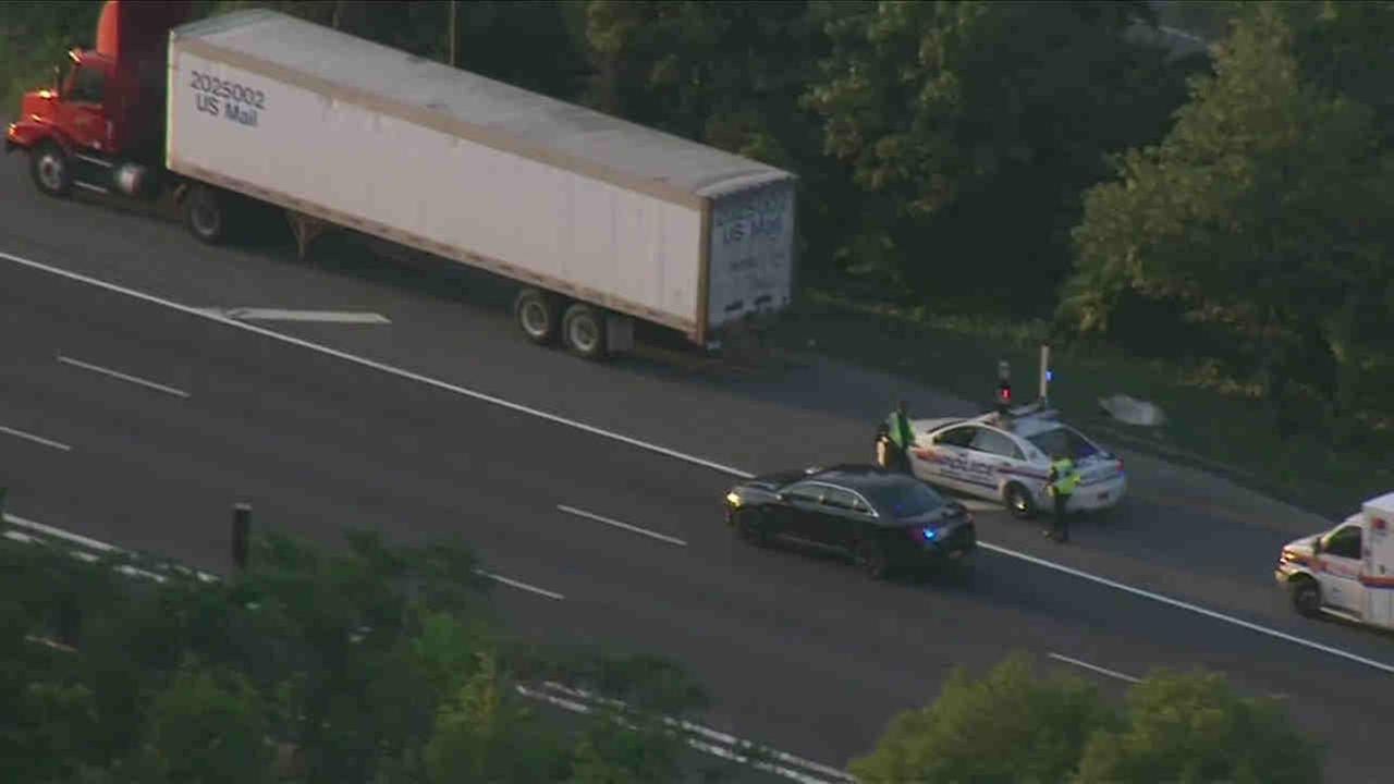 The Long Island Expressway closed eastbound was closed after a pedestrian was hit.