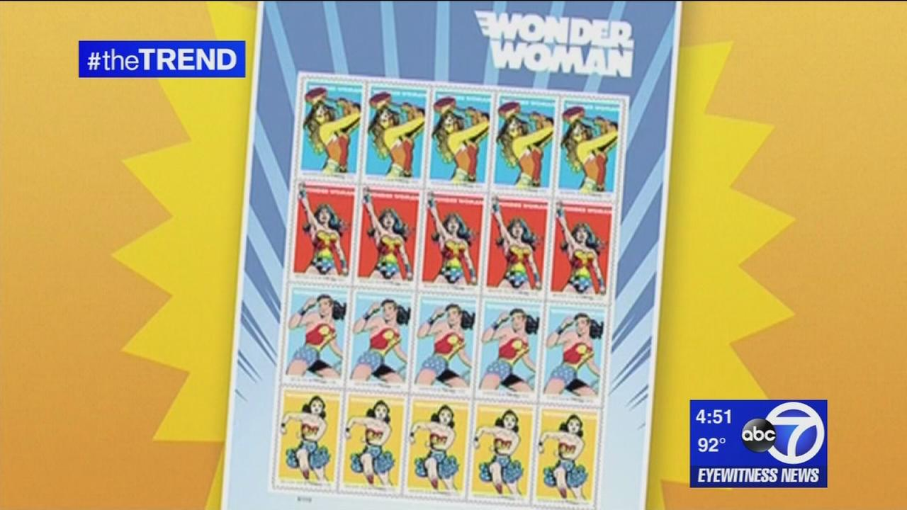 The Trend: Wonder Woman is getting her own stamp