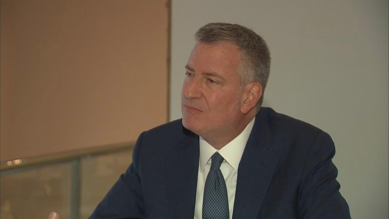 Full interview with Mayor de Blasio at DNC