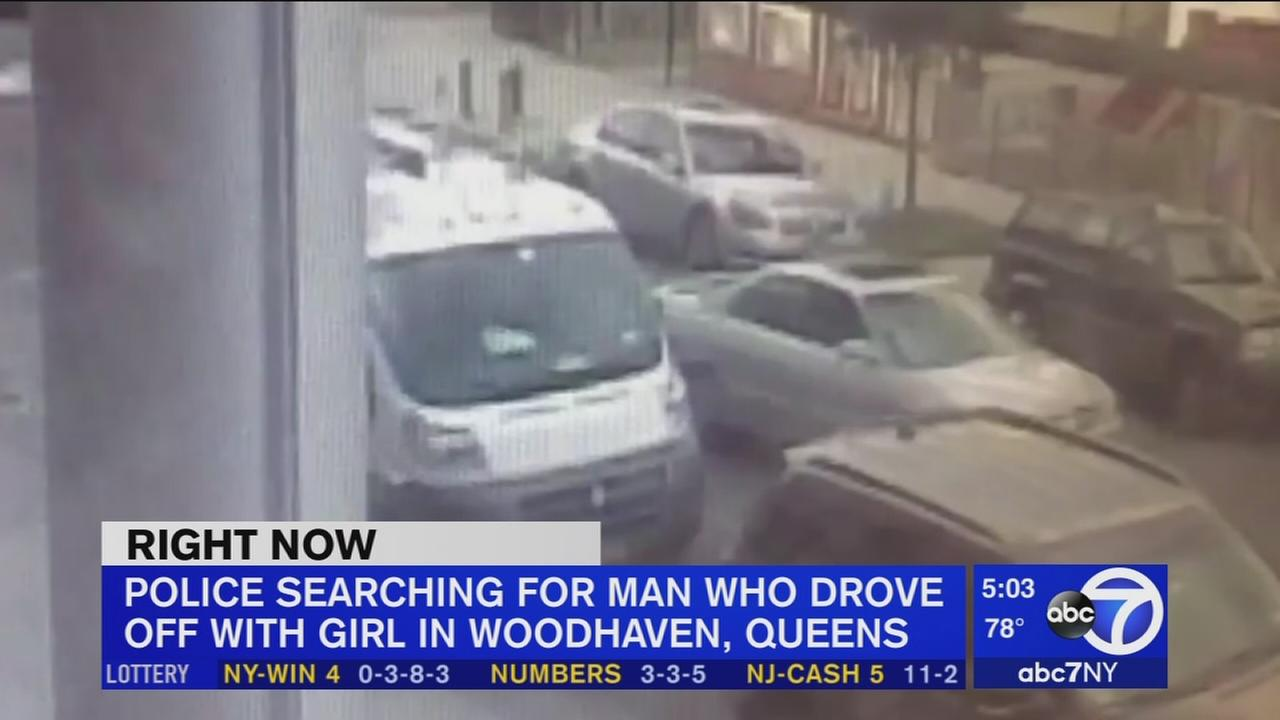 Police looking for man who got girl into car, drove around with her