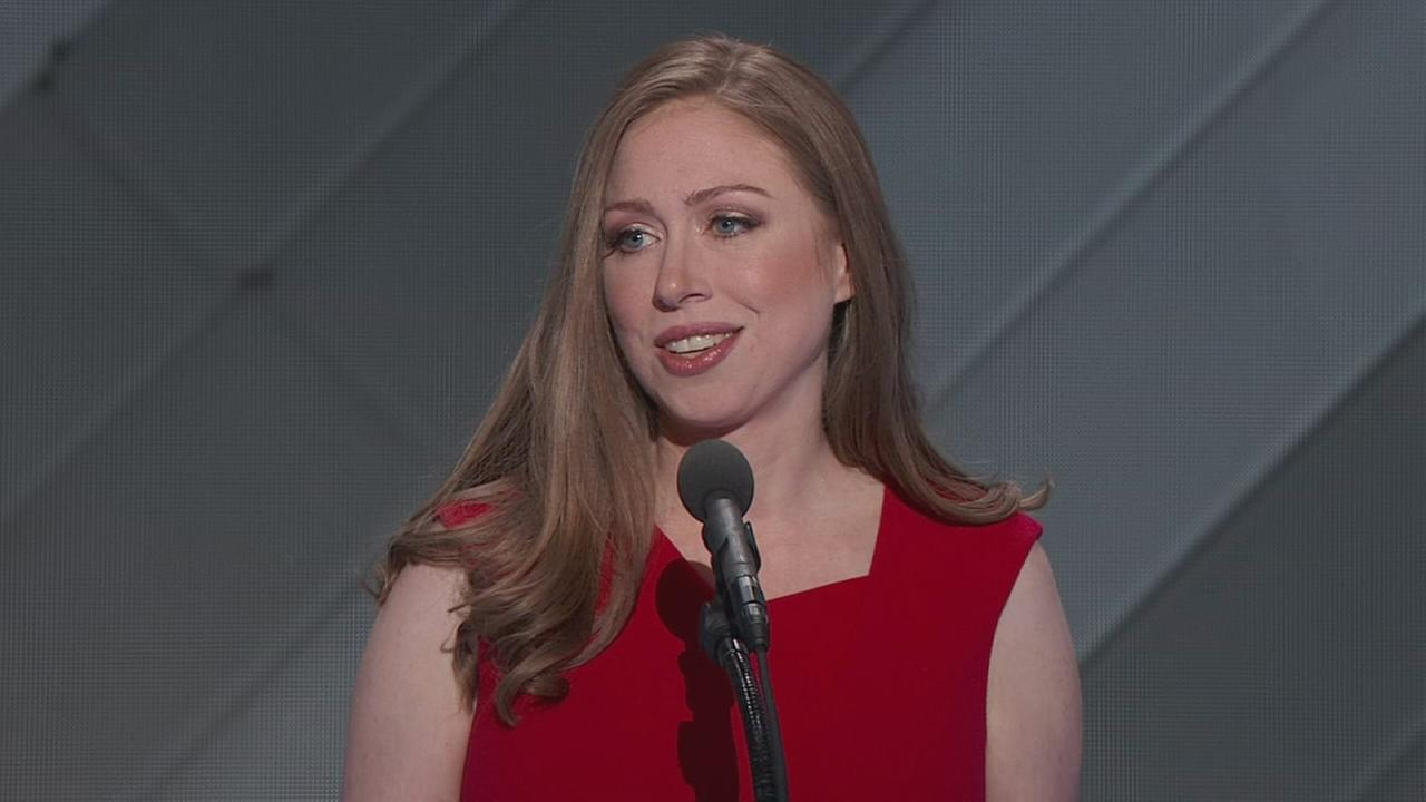 DNC: Chelsea Clinton speaks at DNC