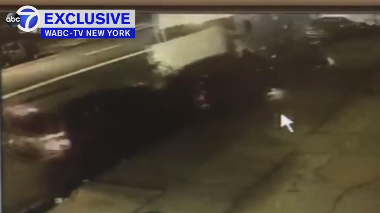 Surveillance video shows Elizabeth fatal crash