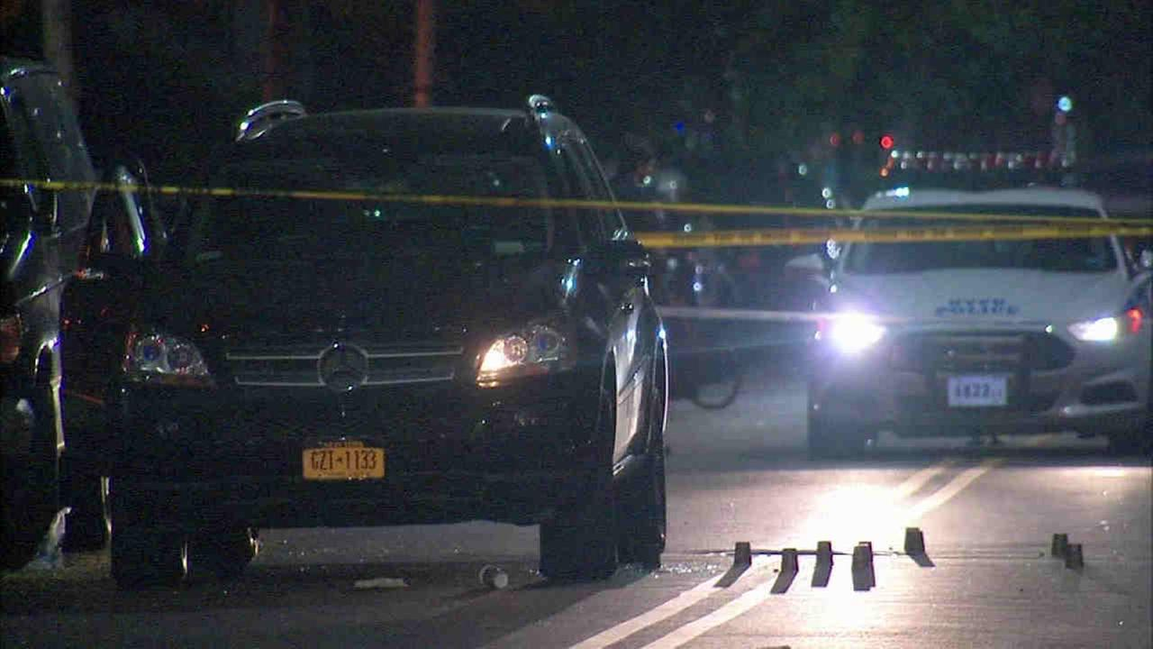 A man was shot to death and a woman was hurt in a double shooting in Brooklyn.