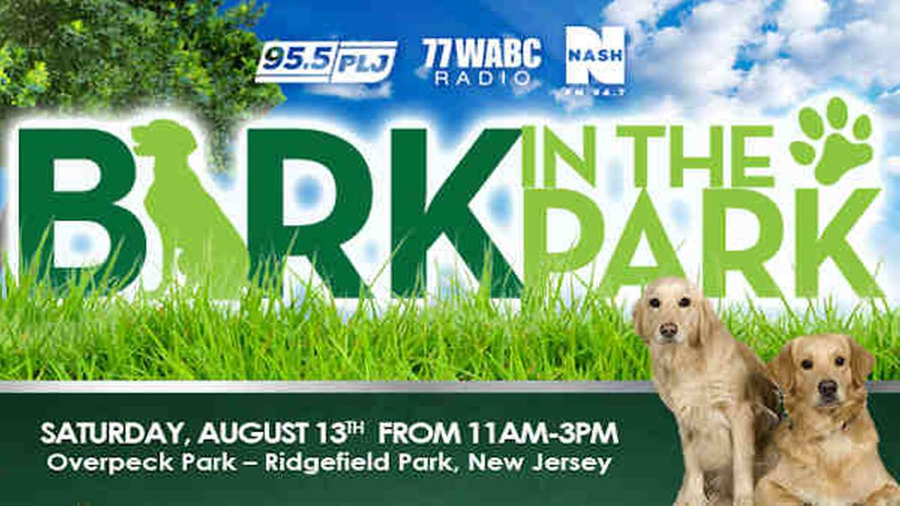 Bark in the Park dog adoption event is Saturday at Ridgefield Park in New Jersey.