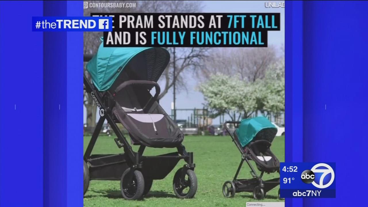 The Trend: Kolcraft creates giant baby stroller for adults