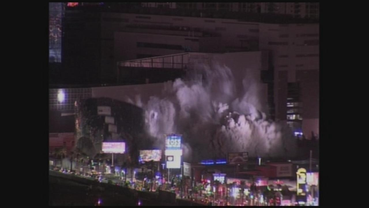 Implosion of Riviera casino