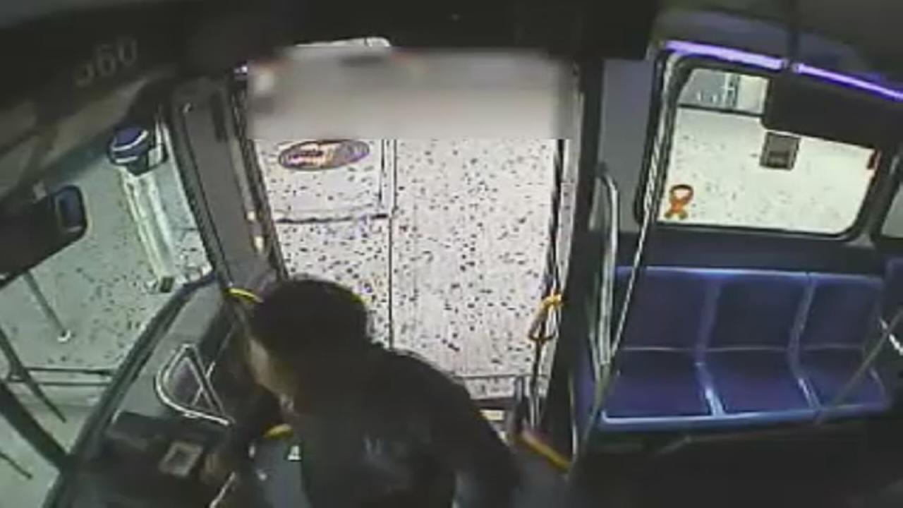 Suspect punches bus driver in the Bronx
