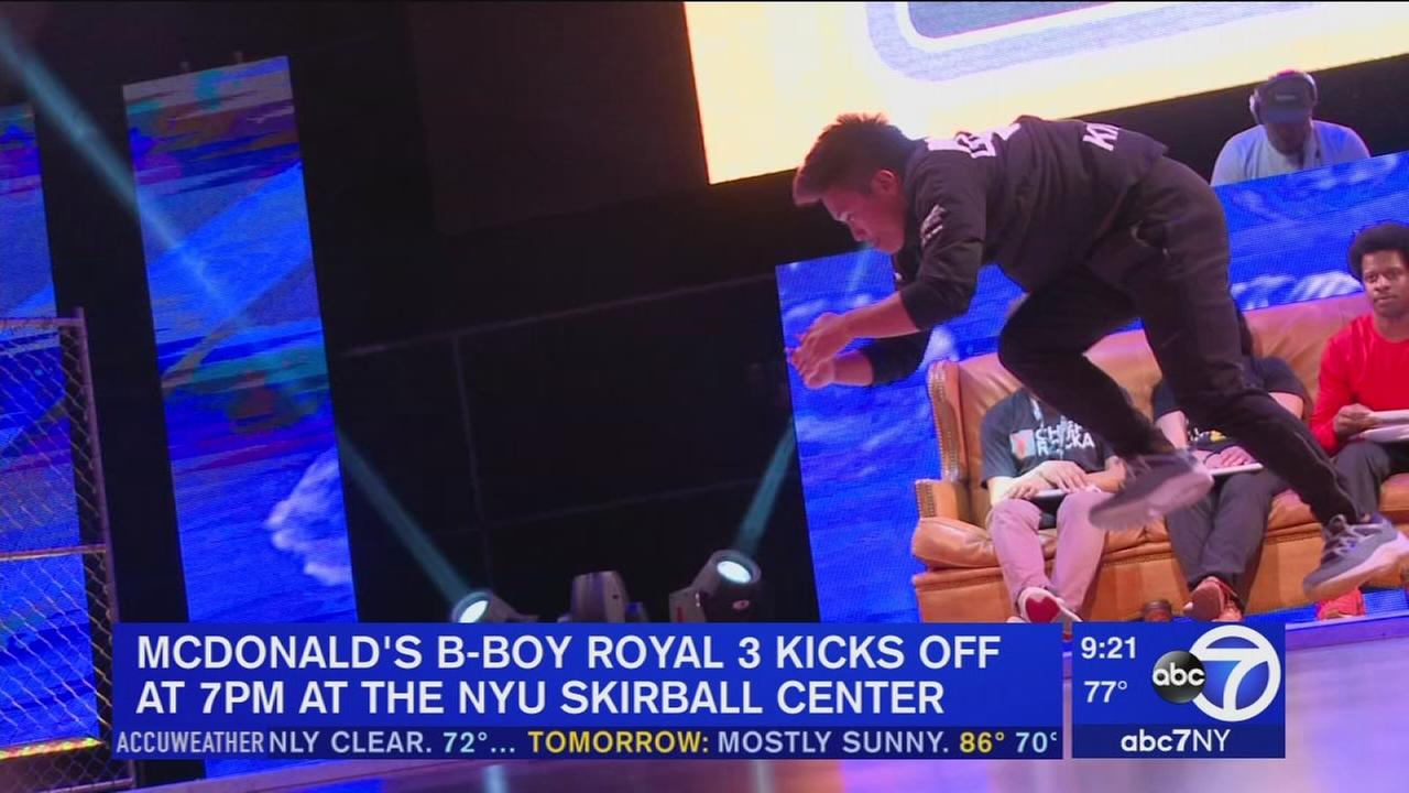 McDonalds B-Boy Royale 3 is Saturday night