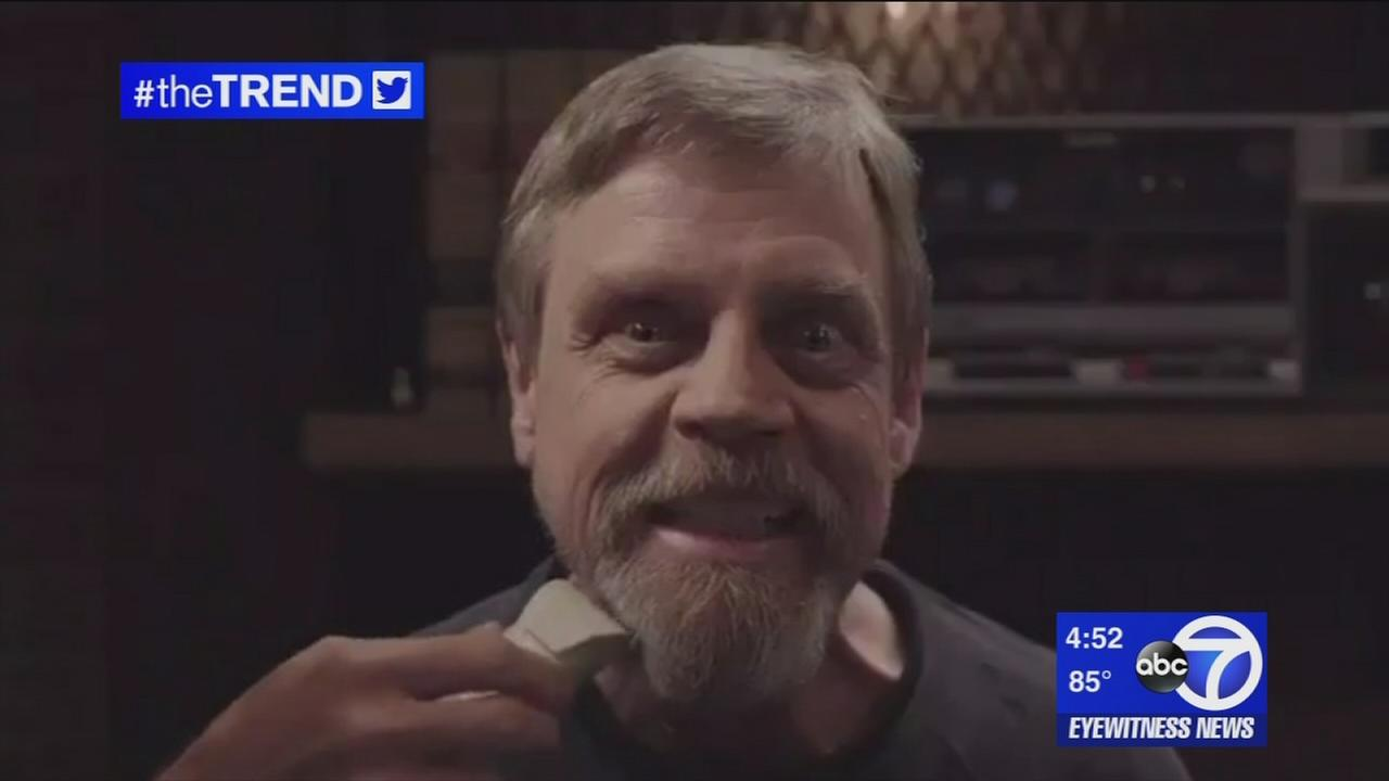 The Trend: Mark Hamill shaves his beard, hints at Star Wars return