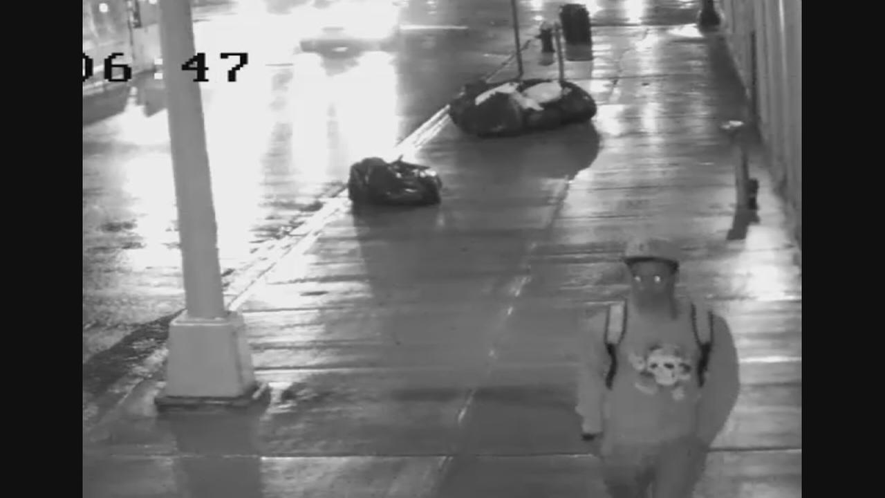 Suspect wanted in Manhattan purse snatching
