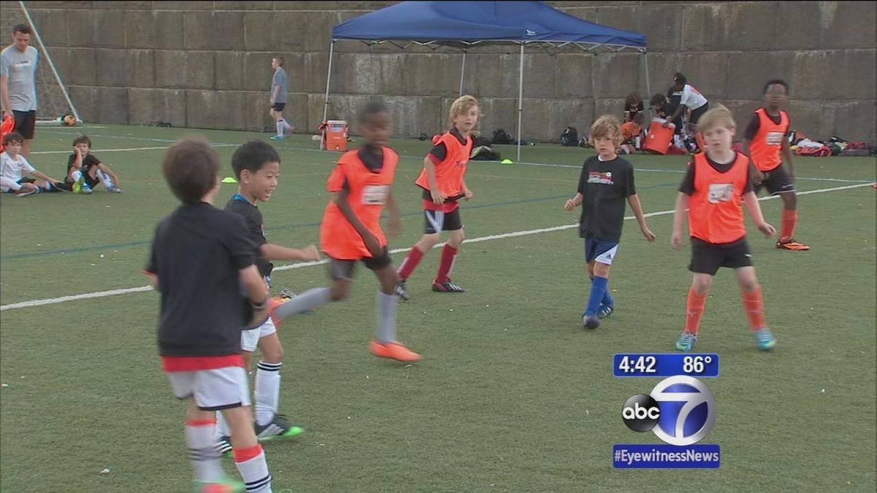 Randalls Island premiere soccer camp