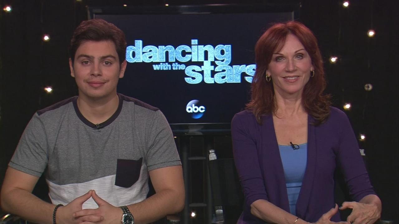 Jake T. Austin and Marilu Henner talk about Dancing with the Stars
