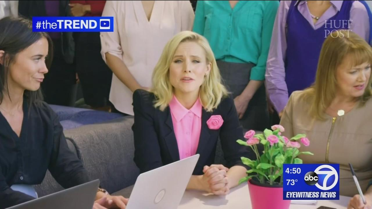 The Trend: Kristen Bell looks at wage gap between men and women