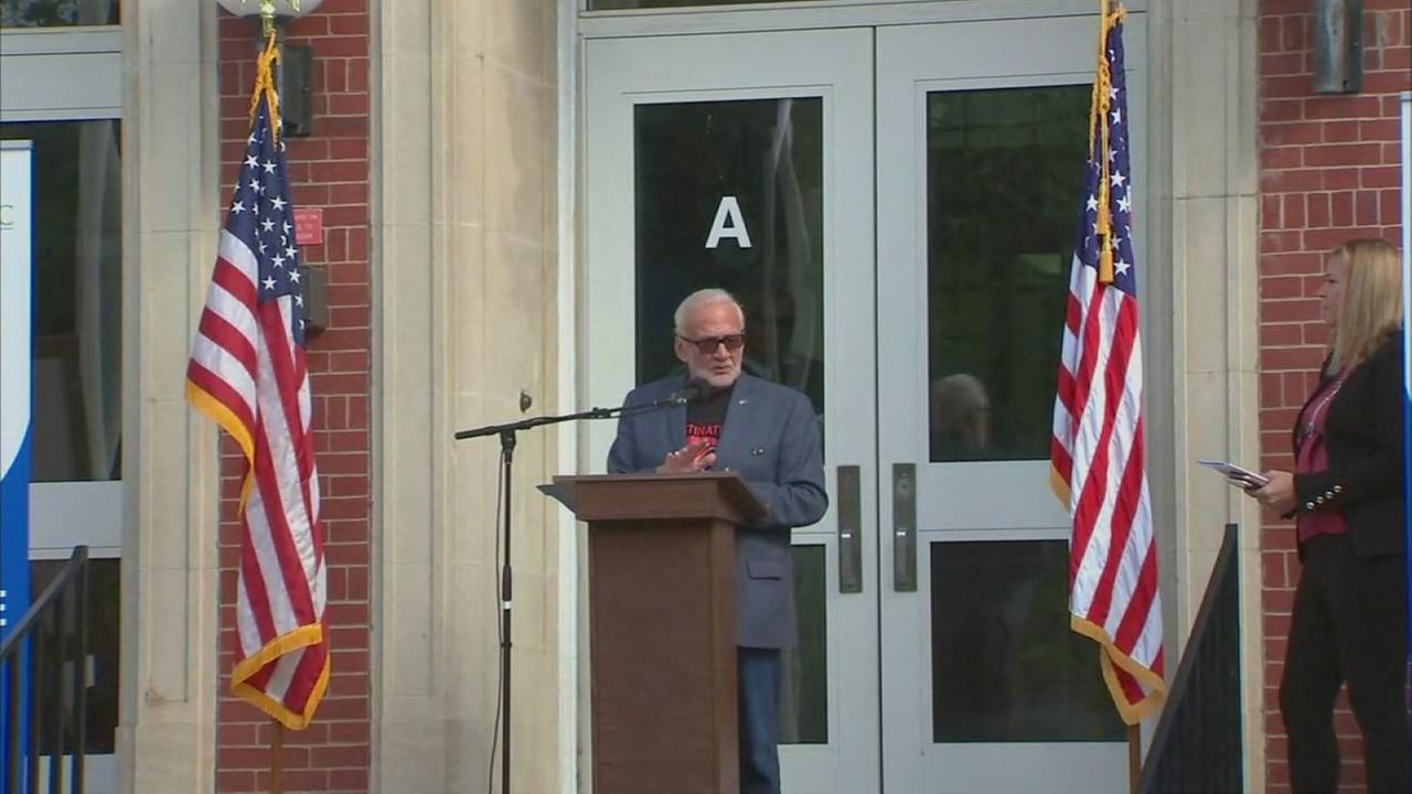 Monclair school renamed after alumnus Buzz Aldrin