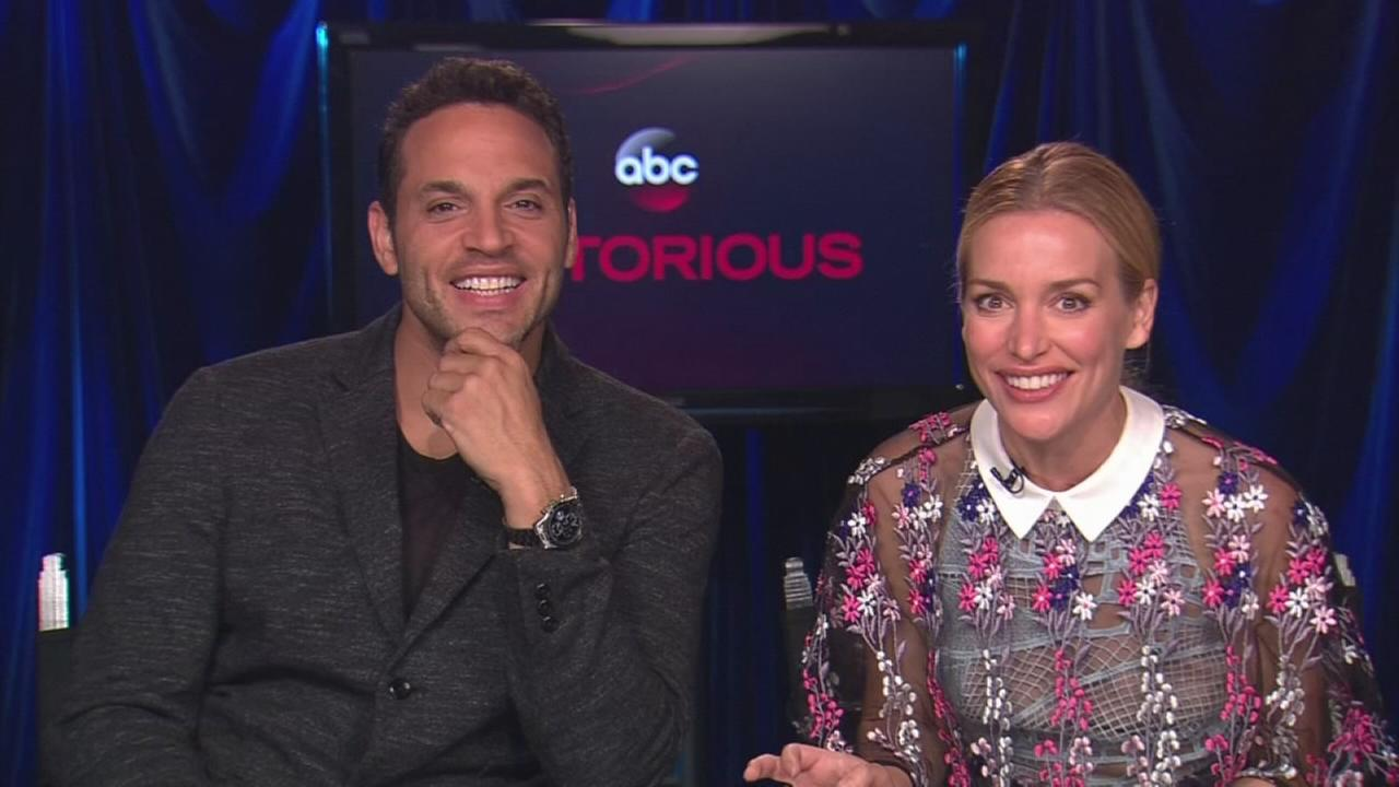Piper Perabo and Daniel Sunjata talk about starring in ABCs Notorious