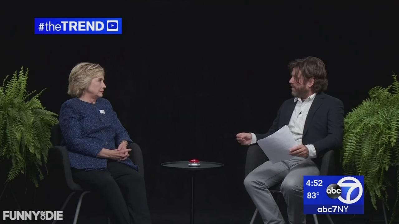 The Trend: Hillary Clinton visits Between Two Ferns