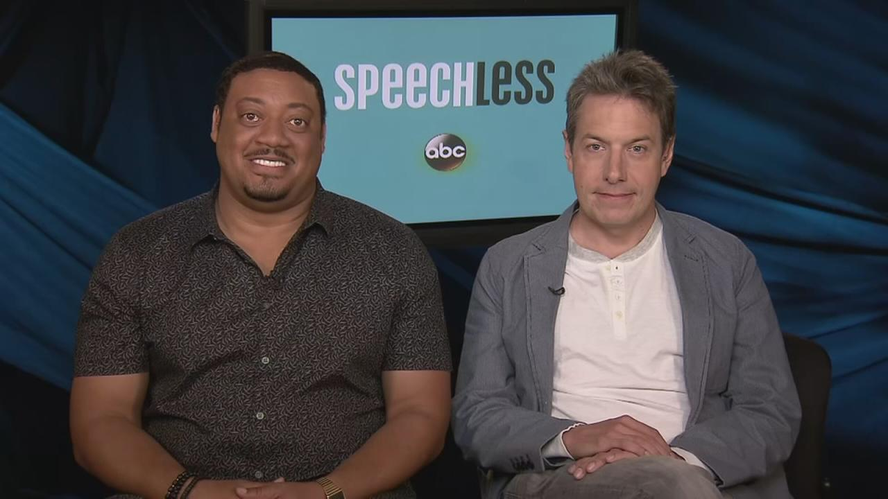 Cedric Yarbrough and John Ross Bowie talk about starring in Speechless