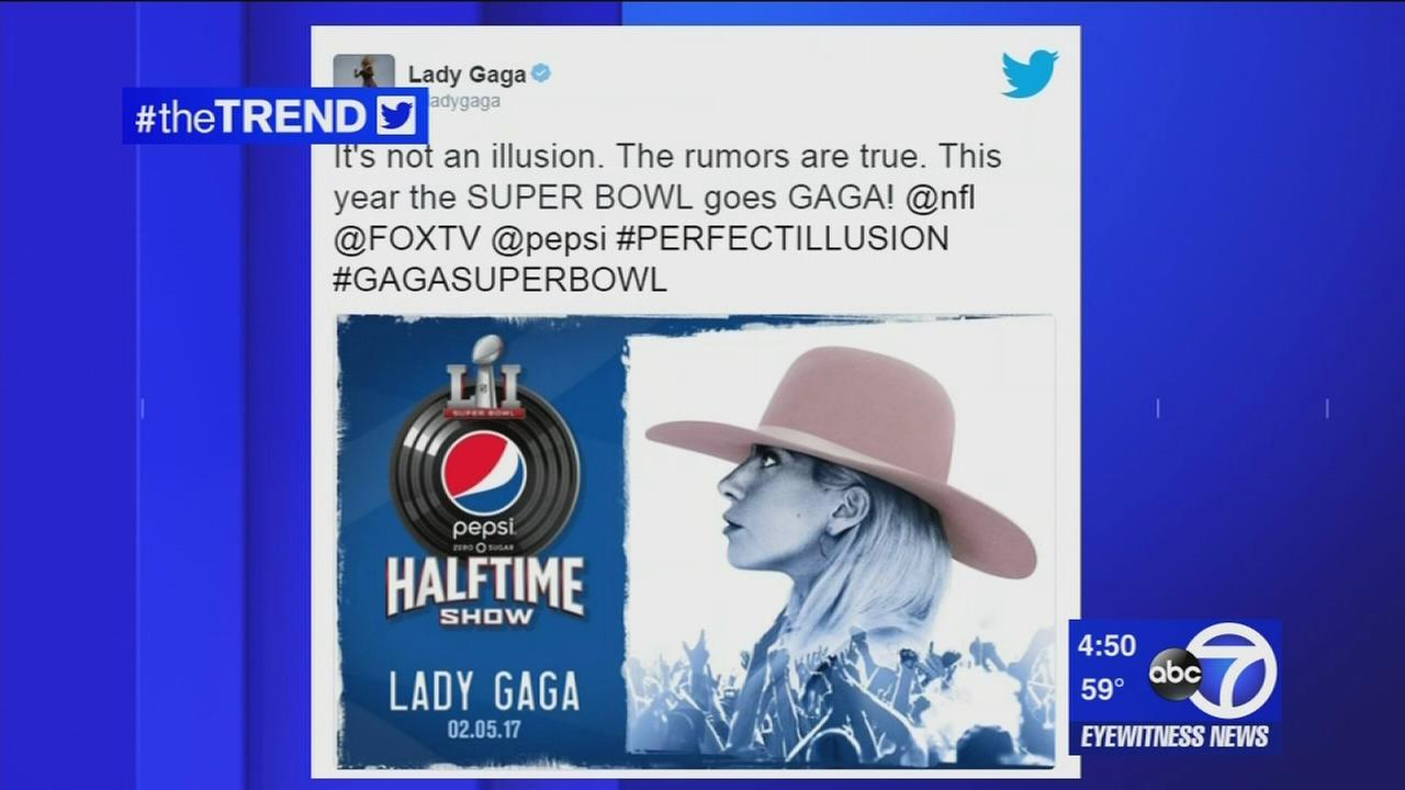 The Trend: Lady Gaga will headline Super Bowl