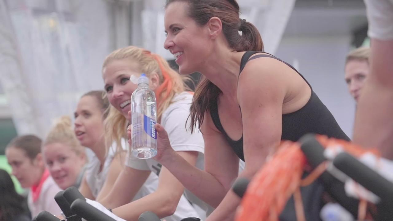 Cycle for Survival raises money at Times Square Takeover