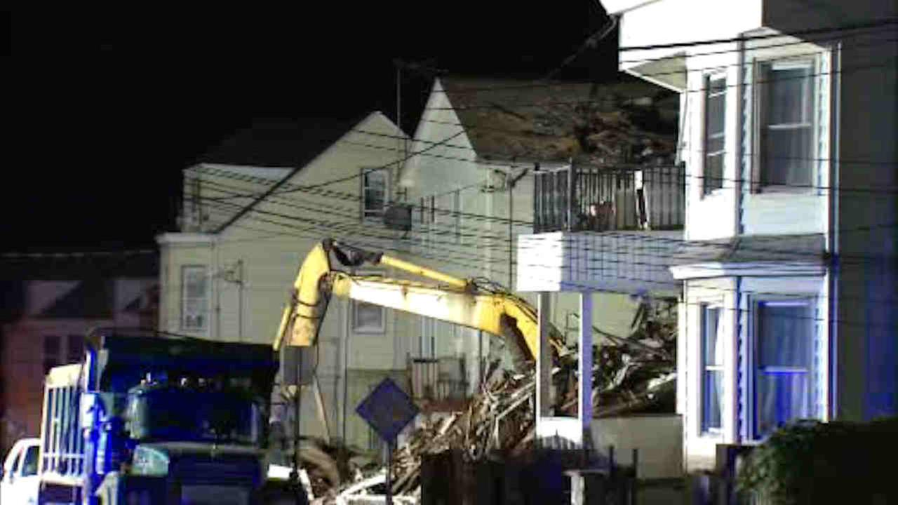 A Paterson home explosion has left many homeless.