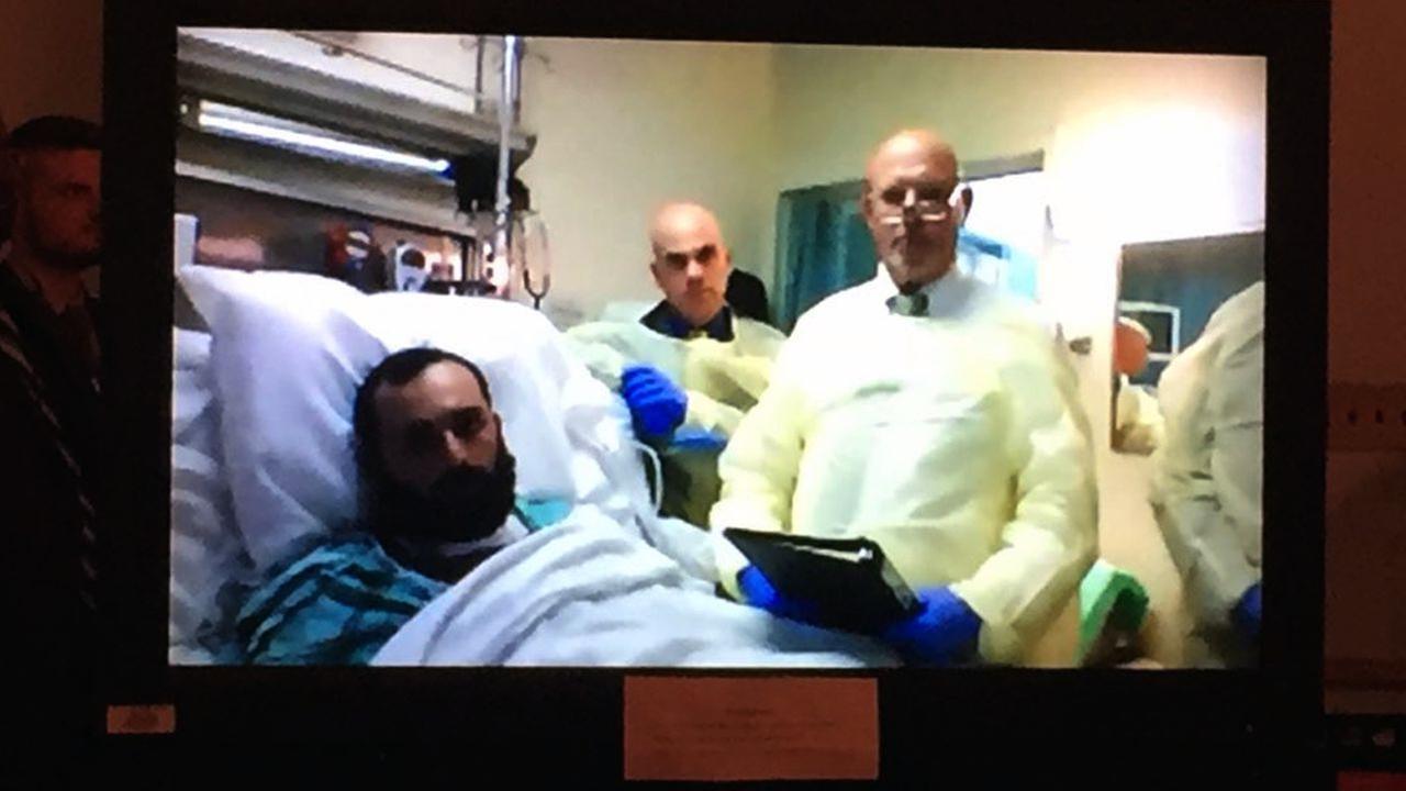 NY, NJ bomb suspect Ahmad Khan Rahimi out of hospital, into prison