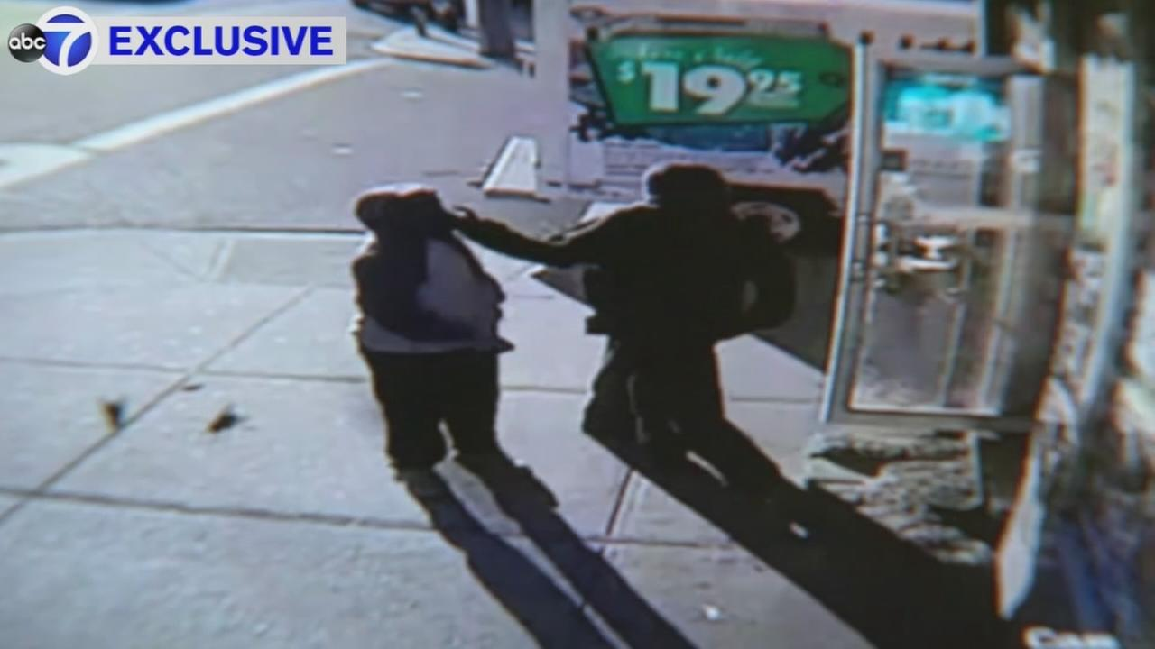 Surveillance video of woman smacked by stranger in Jamaica
