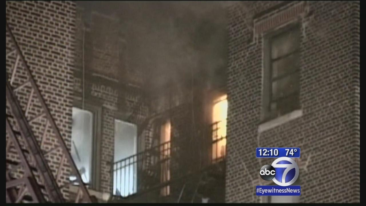 Lightning could be cause of Brooklyn fire