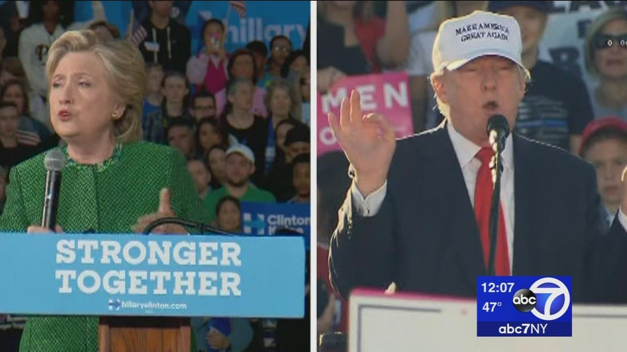 Trump, Clinton campaign in Florida