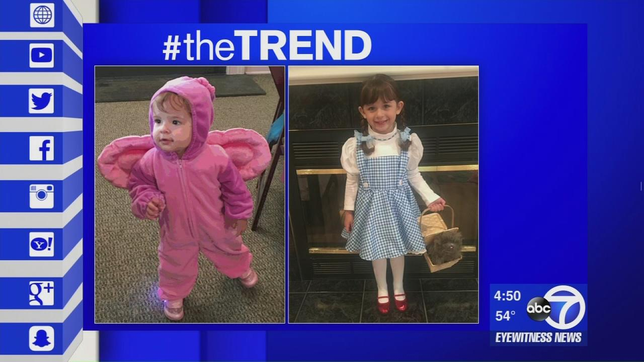 The Trend: Kids and Halloween costumes