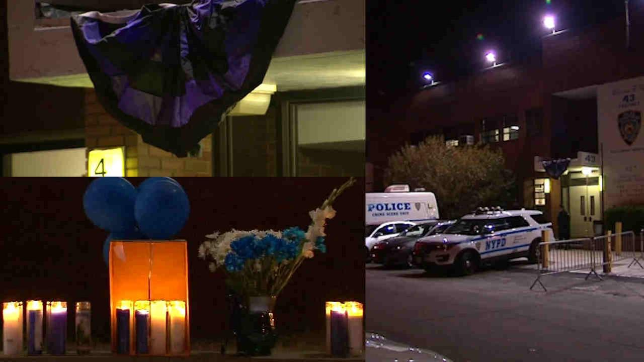 NYPD officer released after shooting in Bronx as 43rd Precinct mourns fallen officer