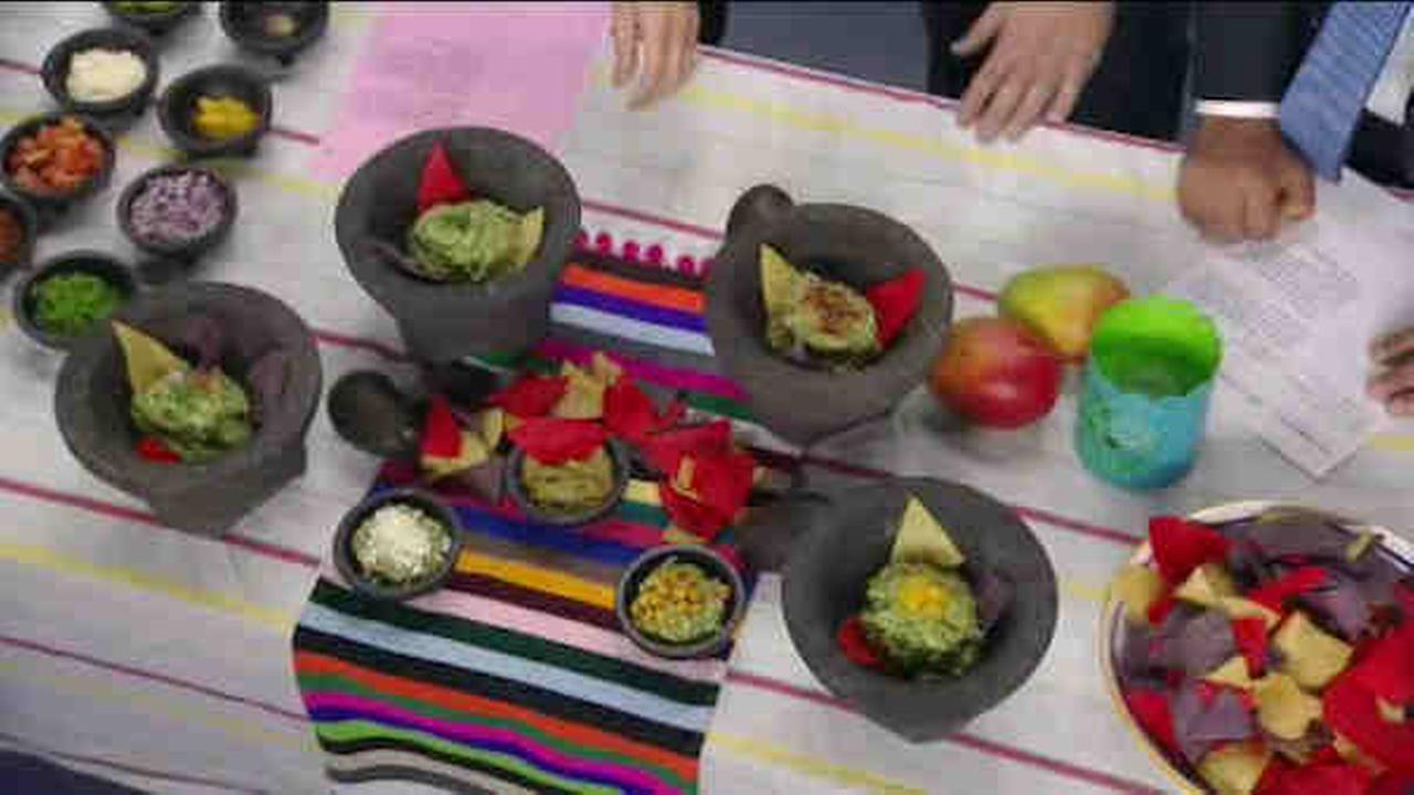 Chef Zaul Martinez and Vincent Sgarlato from Guac Tacos and Tequila visit ABC7NY.