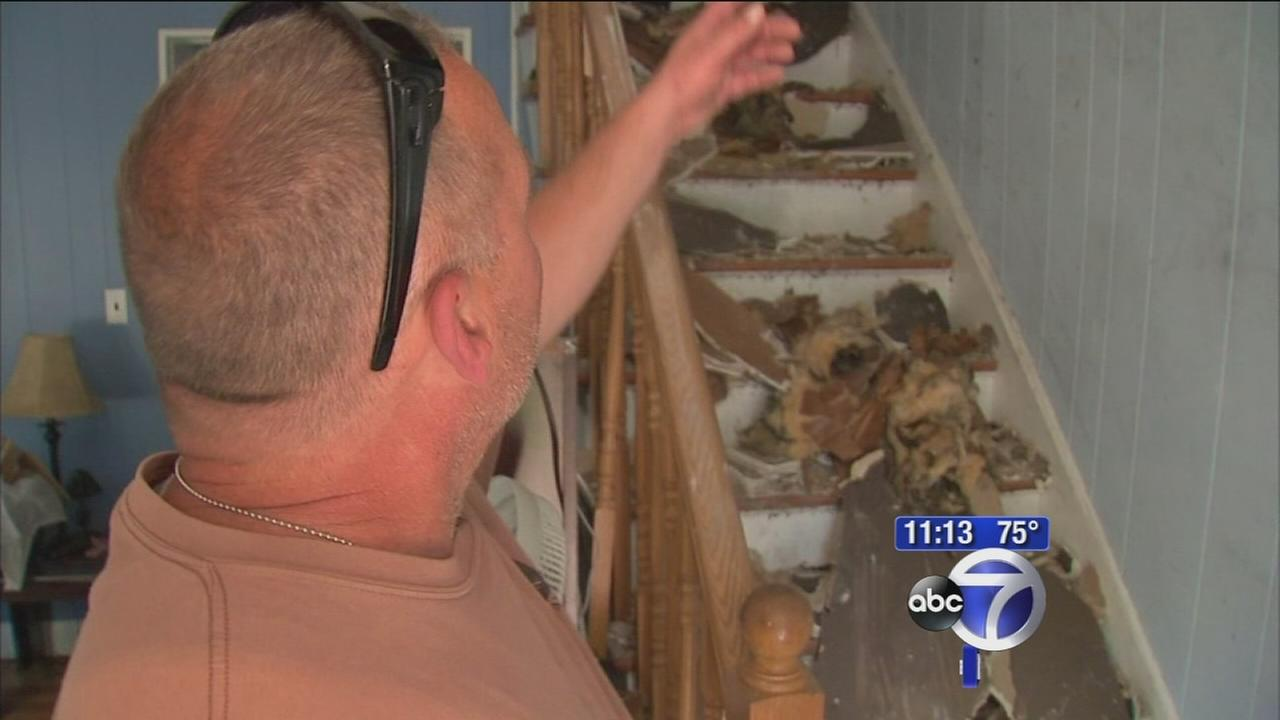 Long Island community rallies to help vet after home catches on fire