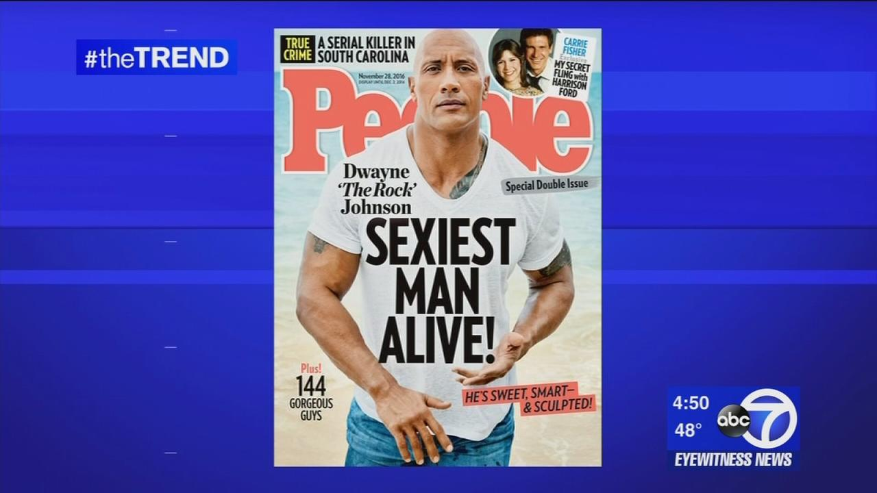 The Rock is Sexiest Man Alive