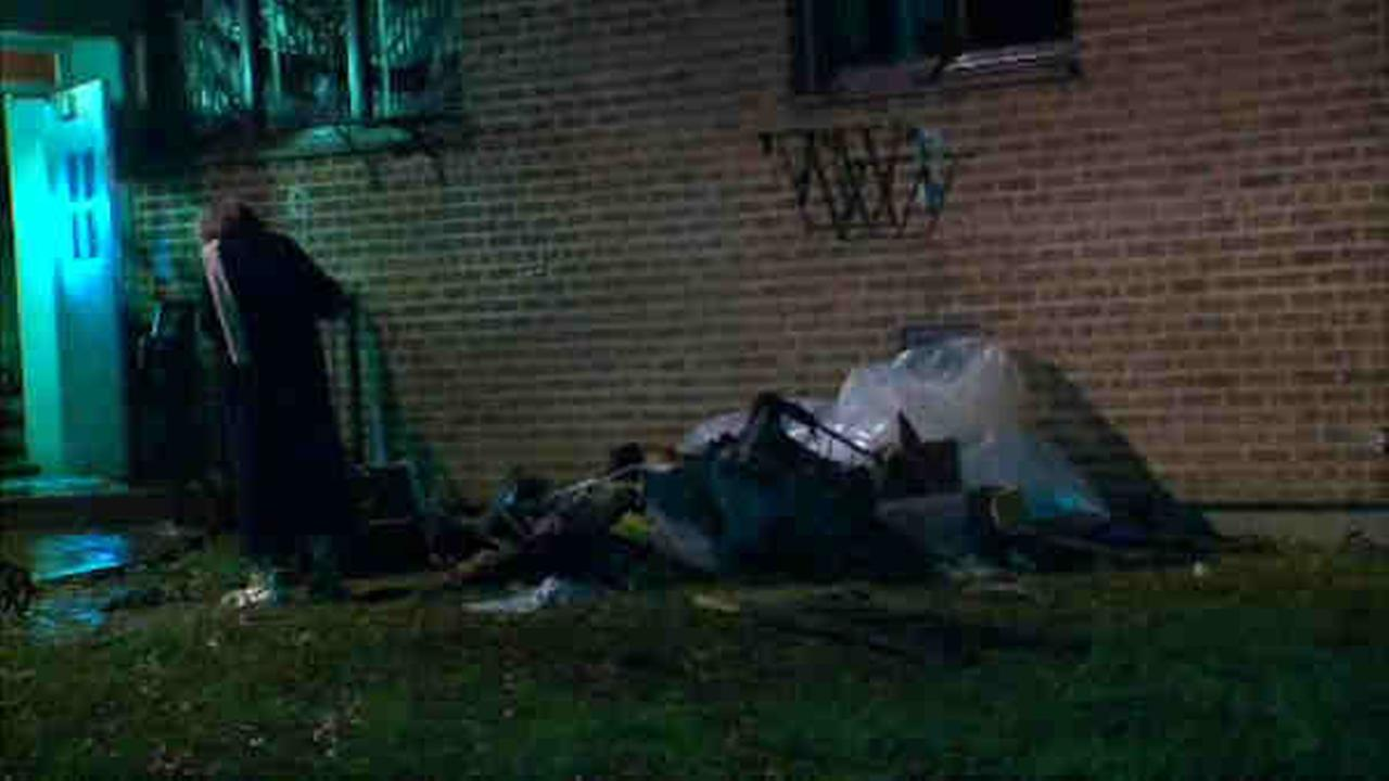 3 people were injured overnight in a fire at a Flushing housing building.