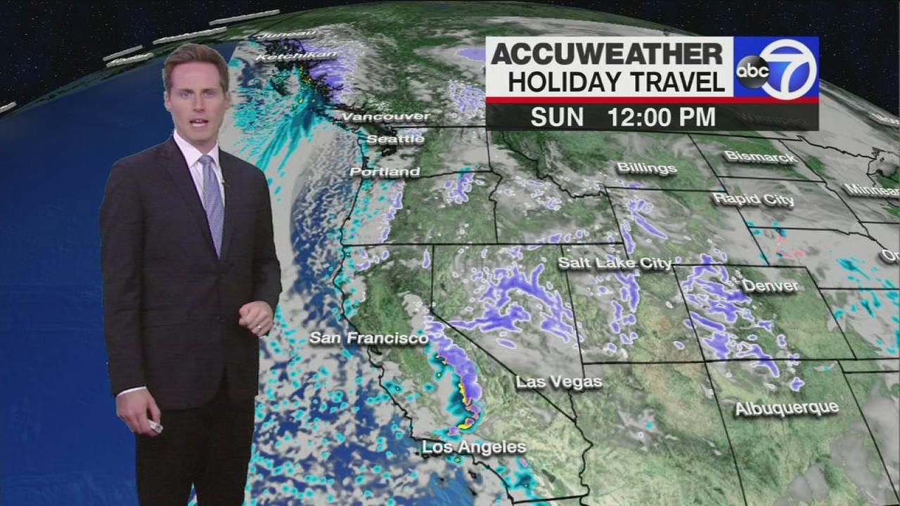 Travel forecast for the return home