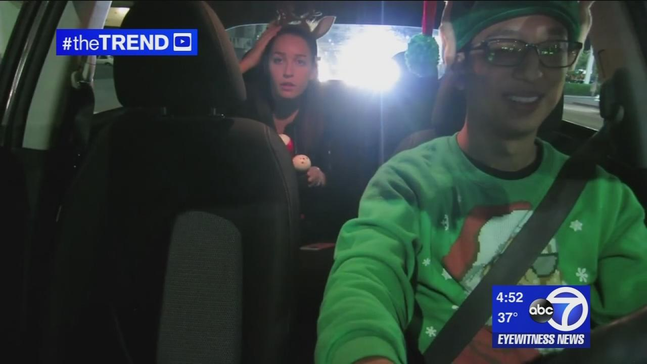 The Trend: Uber driver spreads Christmas spirit