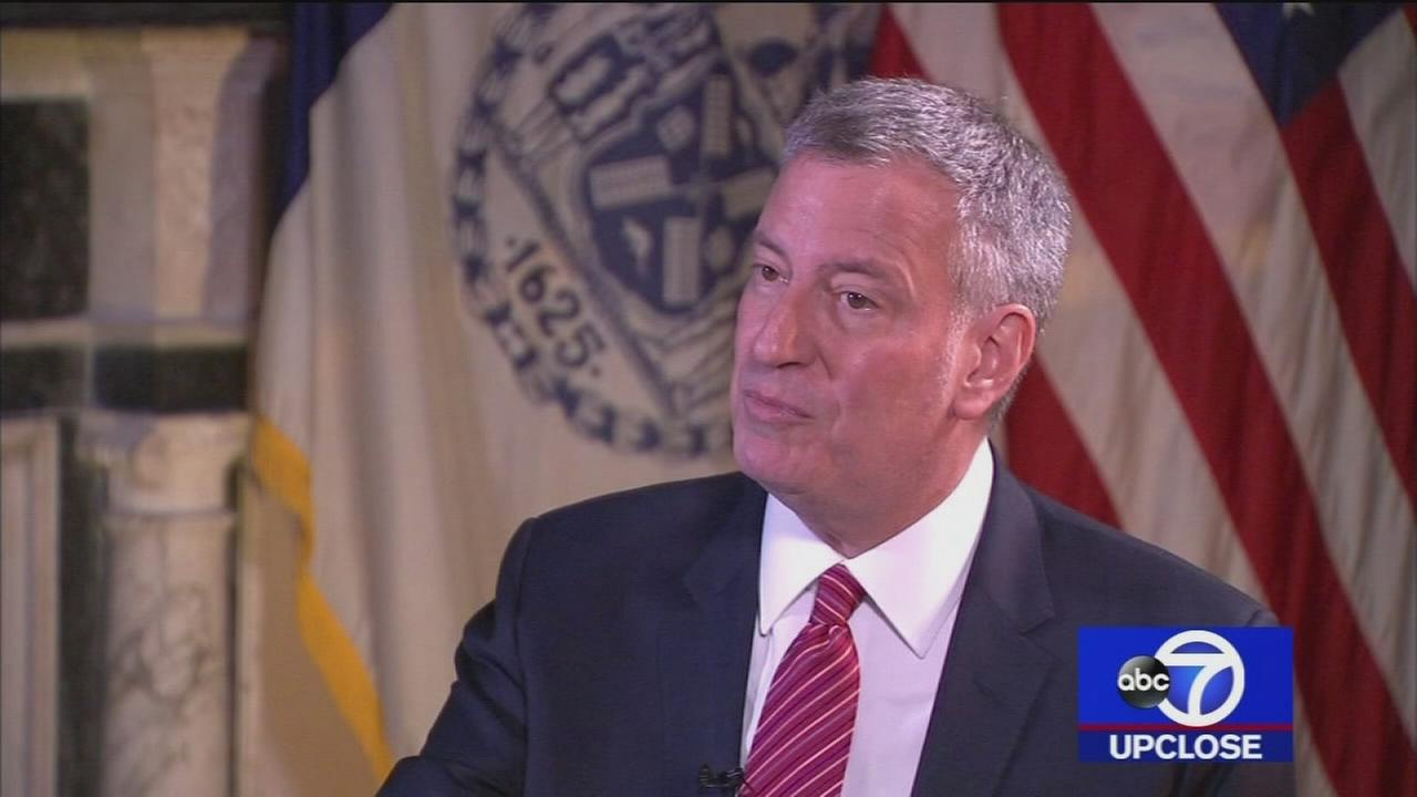 Up Close: Mayor Bill de Blasio
