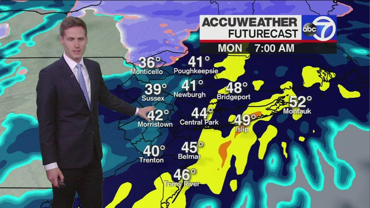 Heres how the wintry weather will impact your Monday commute