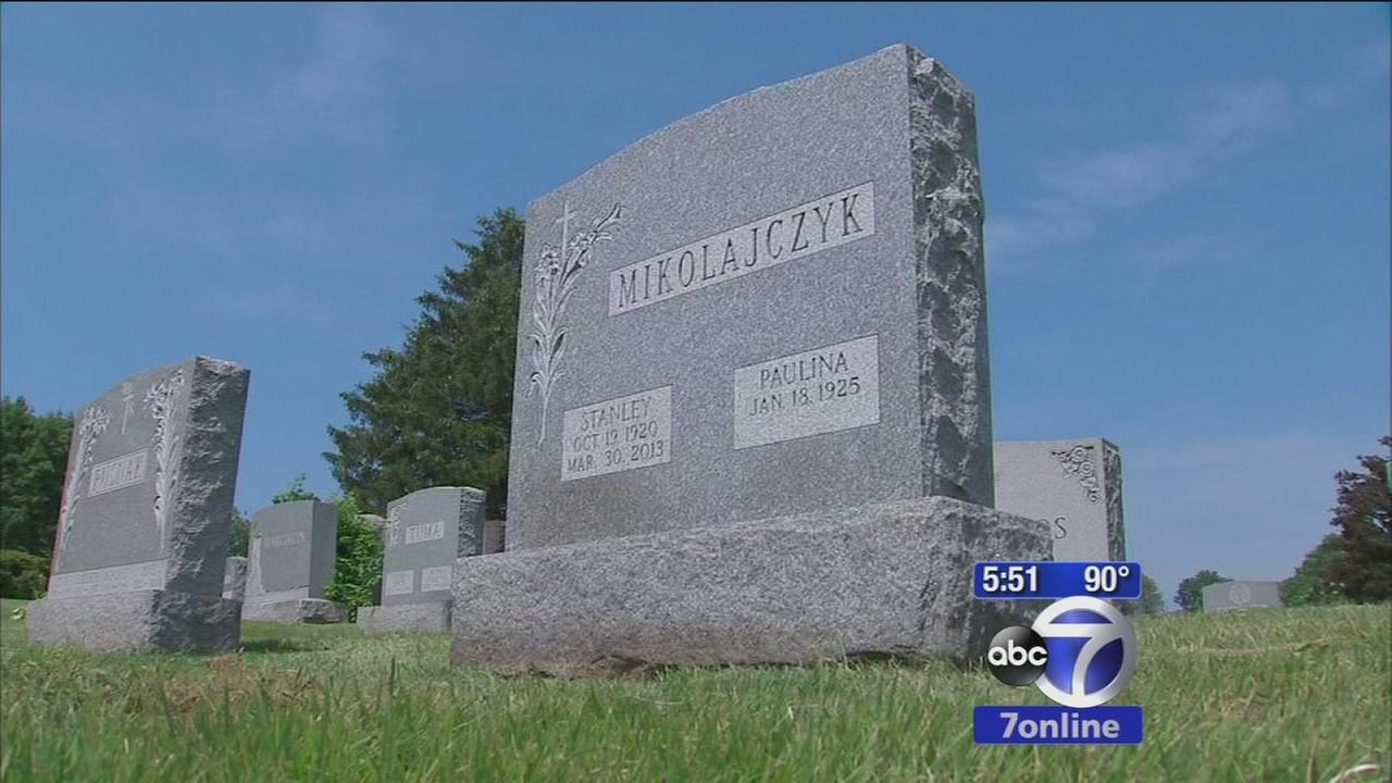 Grieving families say monument company didnt complete job