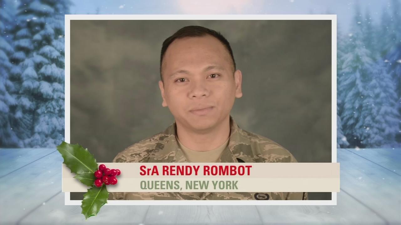 Troop Greetings: SrA Rendy Rombot