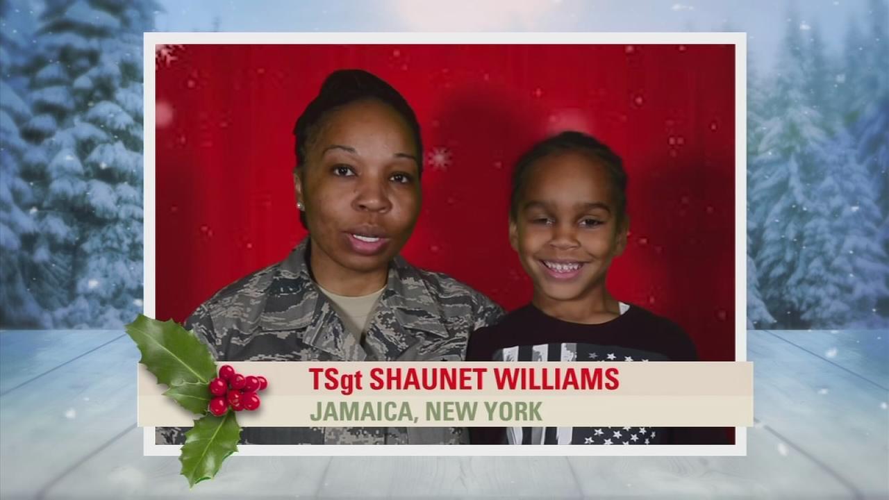 Troop Greetings: TSgt Shaunet Williams