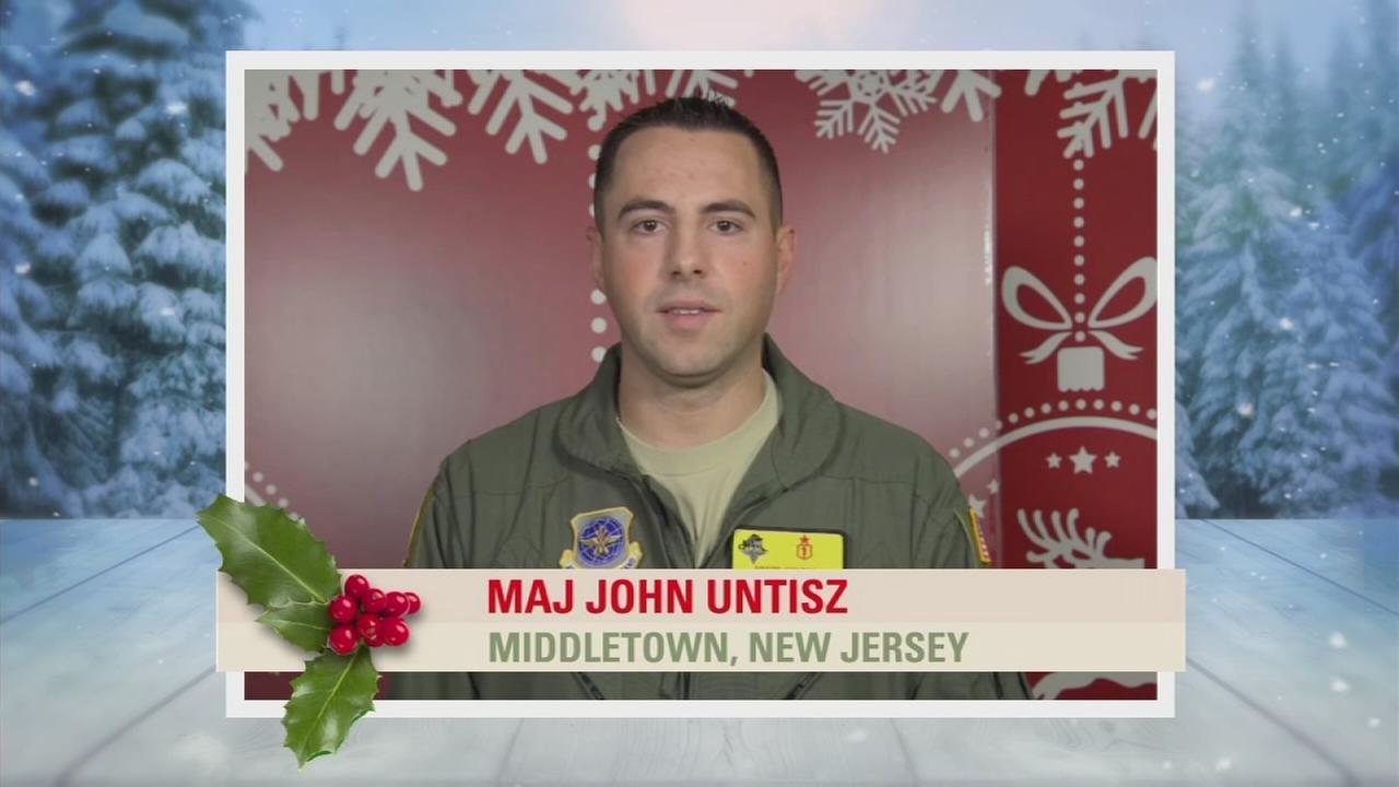 Troop Greetings: MAJ John Untisz